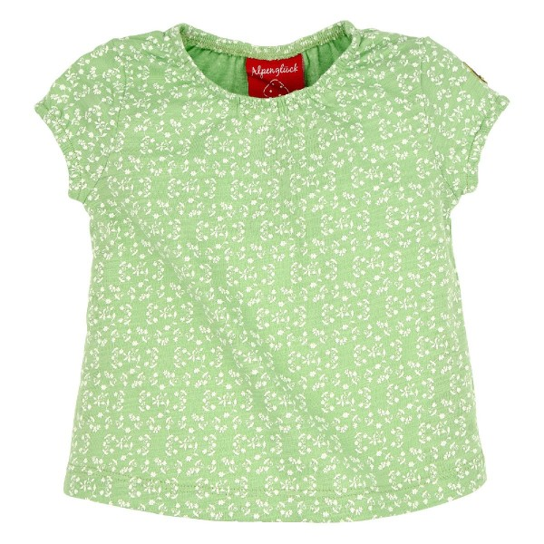Bondi T-Shirt Blümchendruck grün