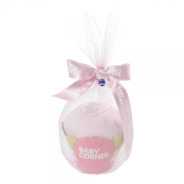 Baby Corner Body Cupcake rosa
