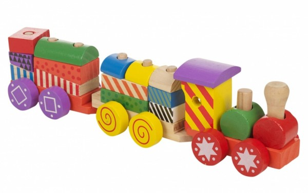 Marionette Holzeisenbahn