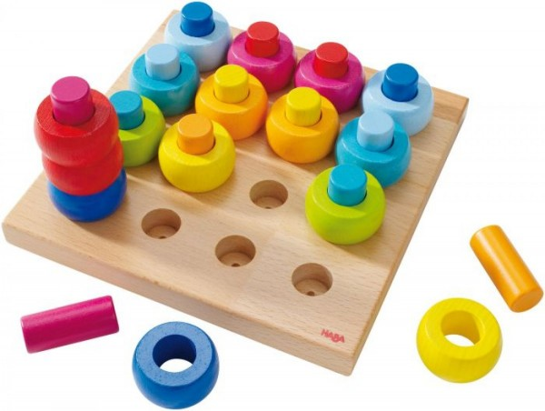 HABA Steckspiel Farbkringel