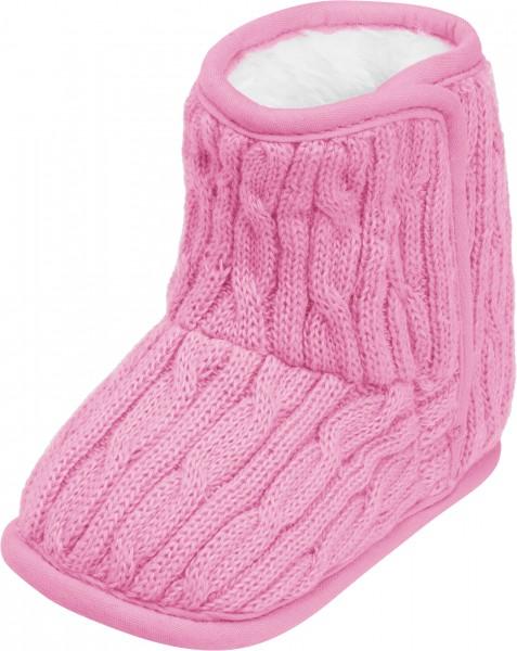 Playshoes Baby-Strickschuhe gefüttert