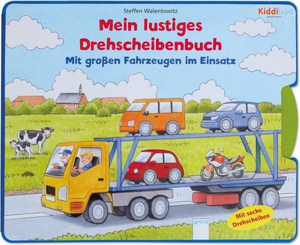 Arena Verlag Mein lustiges Drehscheibenbuch