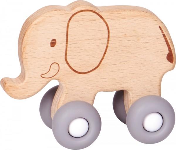 BabyGlück Schiebe-Elefant