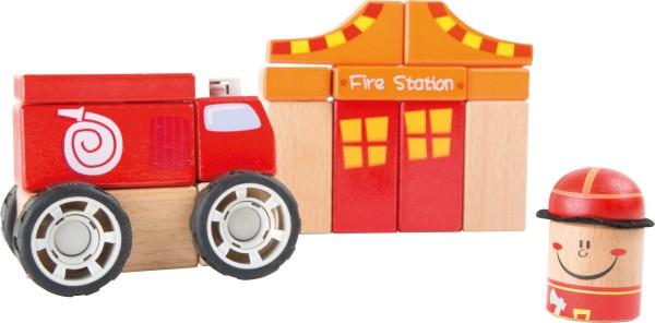 small foot Holzbausatz Feuerwehr mit Sound