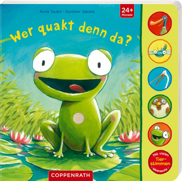 Coppenrath Verlag Wer quakt denn da?