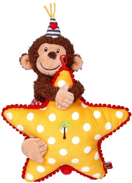 BabyGlück Spieluhr Affe