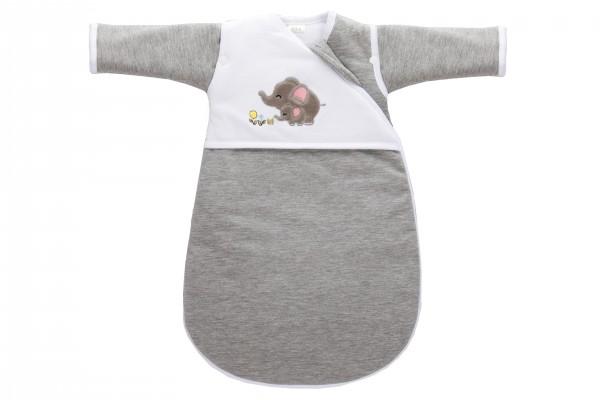 fillikid Erstlingsschlafsack Elefanten grau