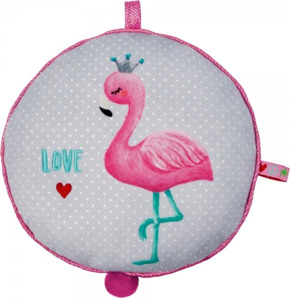 BabyGlück Spieluhr Flamingo