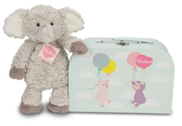 Teddy Hermann Elefant Smartie mit Koffer