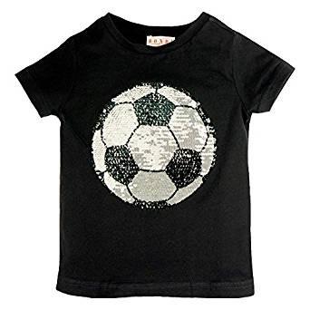 Bondi T-Shirt mit Wende-Pailletten