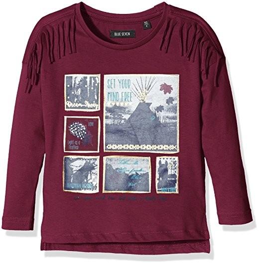 Blue Seven T-Shirt Aubergine