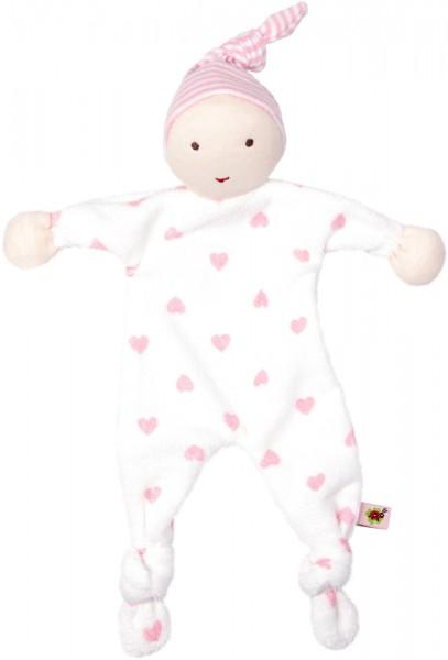 BabyGlück Schmusetuch rosa