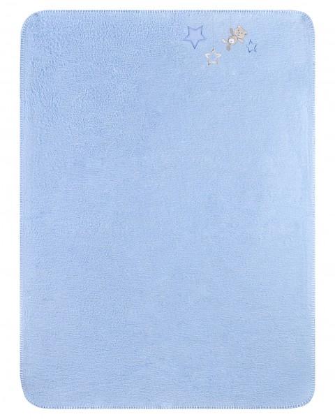 Julius Zöllner Kuscheldecke Sternchen blau