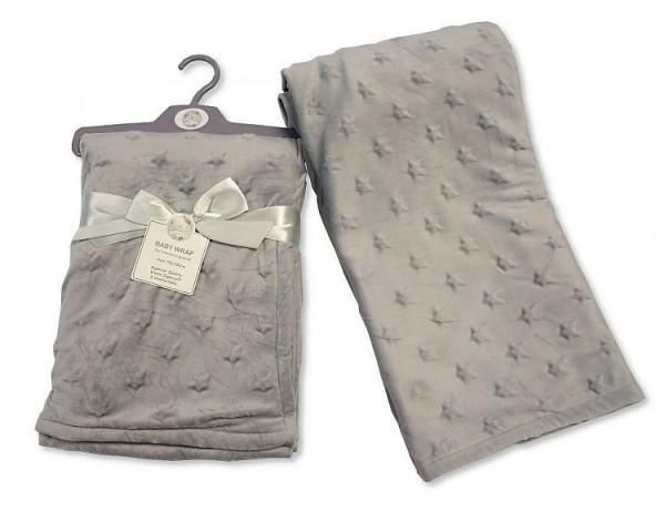 Snuggle Baby Kuscheldecke grau