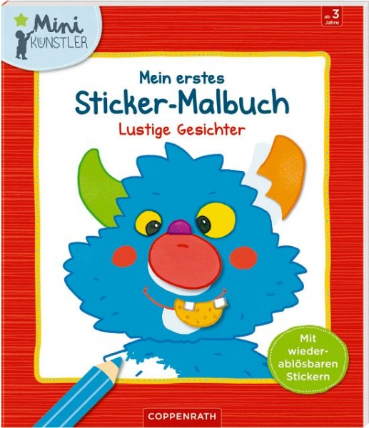 Coppenrath Sticker-Malbuch