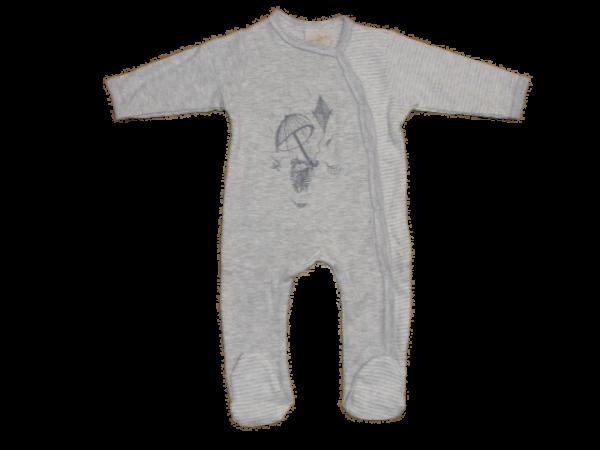 DimOrganic Schlafanzug mit Fuß