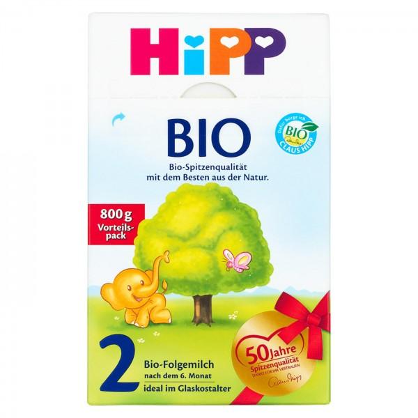 HiPP BIO 2 Bio Folgemilch Vorteilspack 800 g