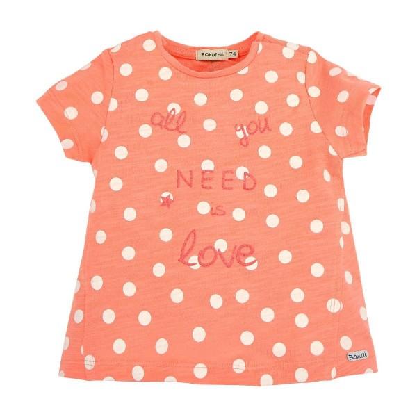 Bondi Mädchen T- Shirt Punkte