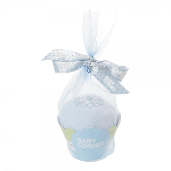 Baby Corner Body Cupcake blau