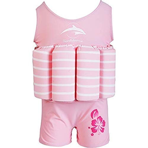 Konfidence Float Suit Pink Breton