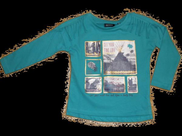 Blue Seven T-Shirt Türkis