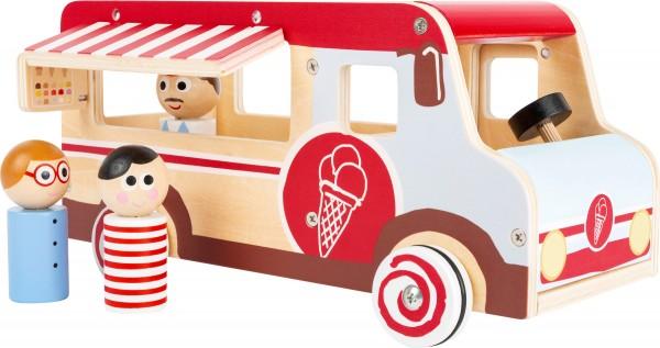small foot Spielauto Spielauto Eiswagen XL