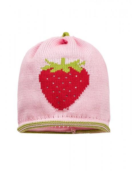 maximo Mädchen Baumwollmütze rosa