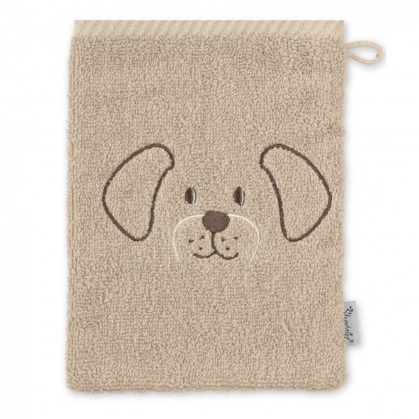 Sterntaler Waschhandschuh Hund Hanno