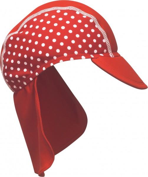 Playshoes UV Bademütze Punkte rot