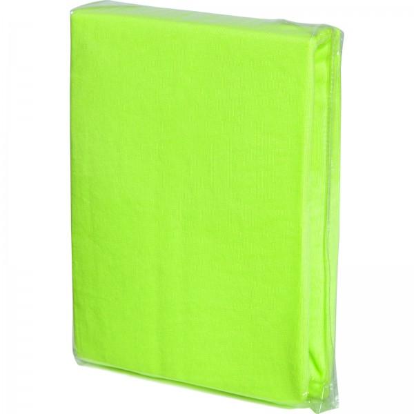 fillikid Spannbettlaken für Wiegen Jersey grün