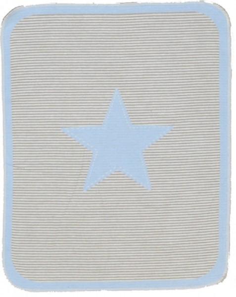 Fussenegger BabydeckeJuwel Star blau