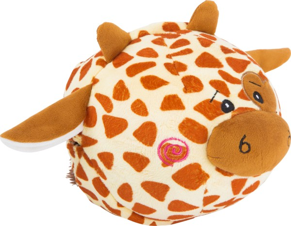 small foot Plüschball Zebra & Giraffe
