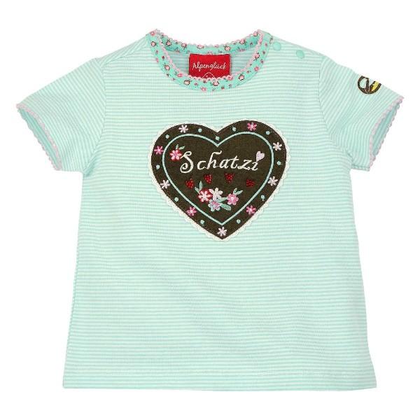 Bondi Mädchen T- Shirt geringelt Schatzi