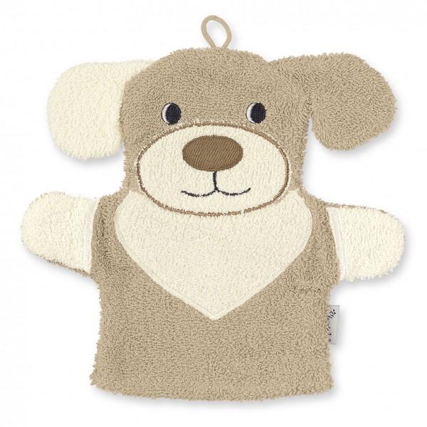 Sterntaler Spiel Waschhandschuh Hund Hanno