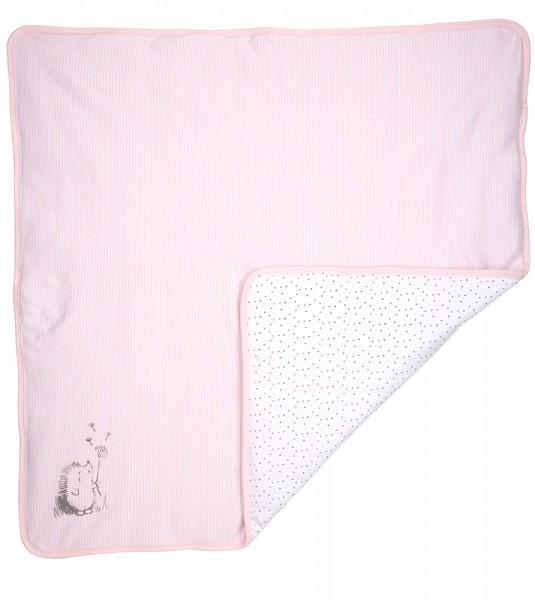 DimOrganic Babydecke rosa