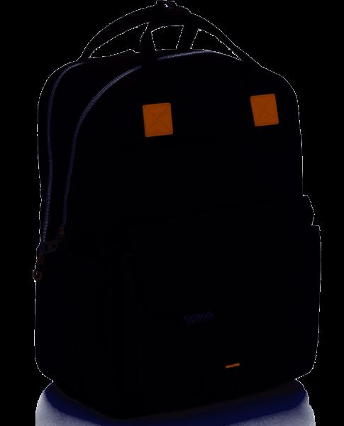 fillikid Wickelrucksack schwarz