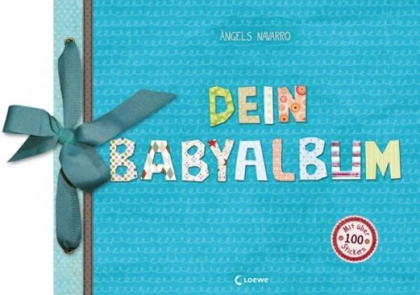 Dein Babyalbum blau