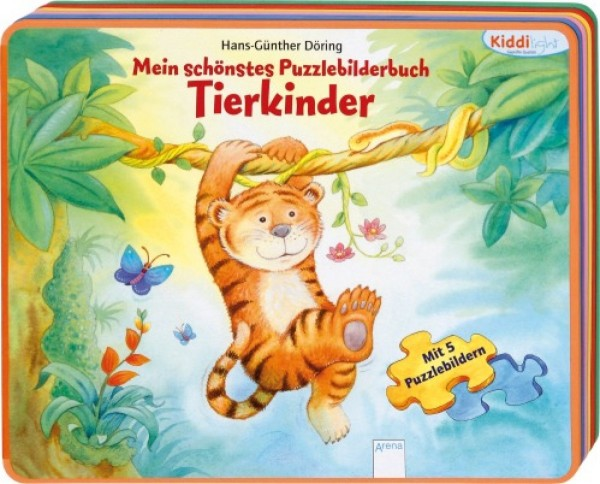 Arena Verlag Mein schönstes Puzzlebilderbuch